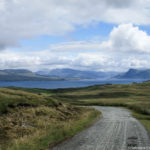 Strada per la baia di Armadale-Isola di Skye